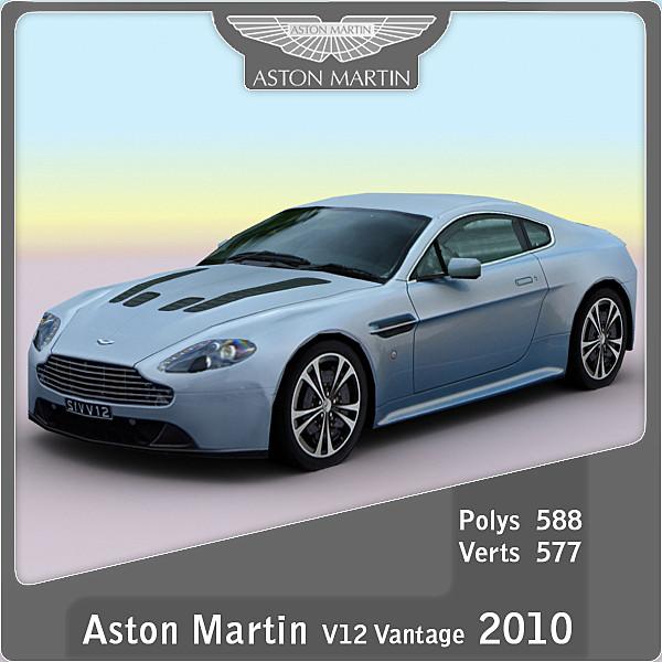 2010 aston martin v12 3ds