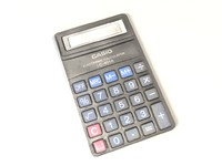 used calculator - lowpoly