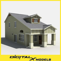 3d subdivision house