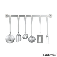 Alessi JM19 kitchen cutlery set