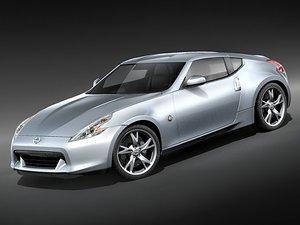 3d model nissan 370z sport 370