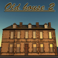 old house 2 3d max
