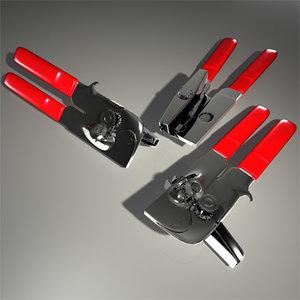 3d opener model