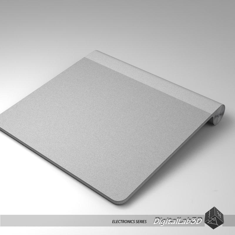 3d model magic trackpad