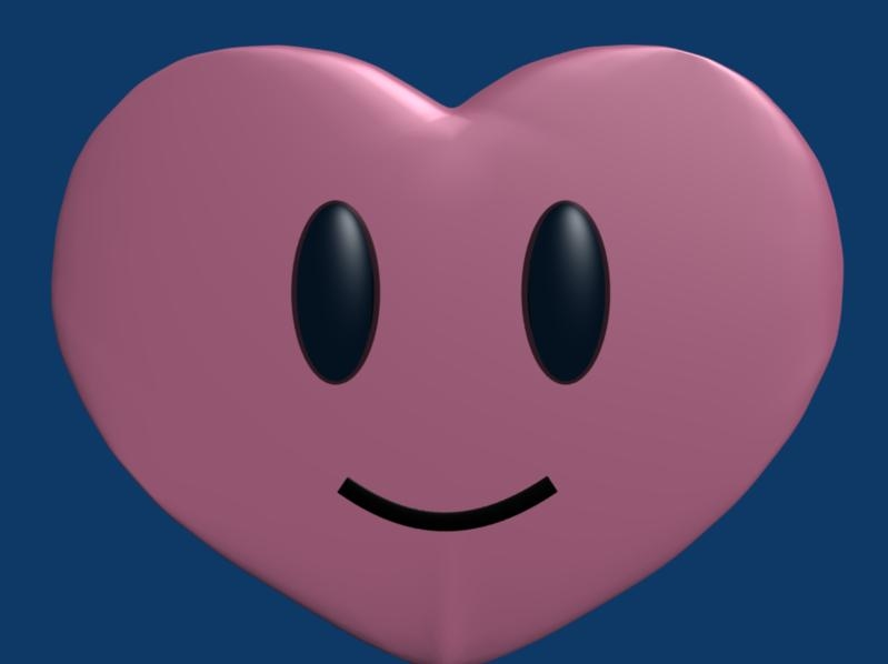 free heart mario kart 3d model