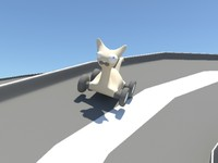 cat wheels 3d ma