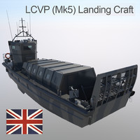 LCVP (MK5) Landing Craft