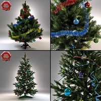 New Year Trees Collection
