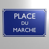3d model plaque place du