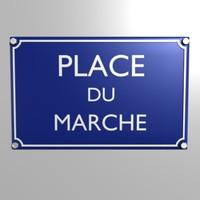 3d model plaque place du