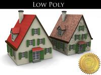 residential house 3d model