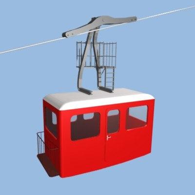 cabin 3d 3ds
