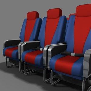 x aeroplane seat