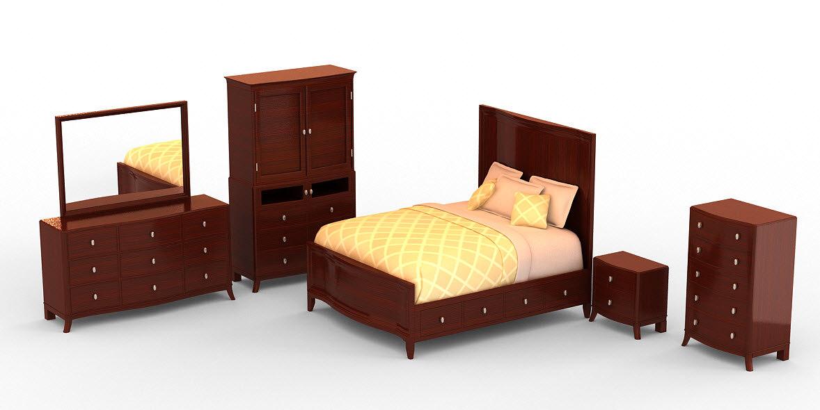 bedroom set - mercer max