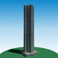 Building 008 - skyscraper