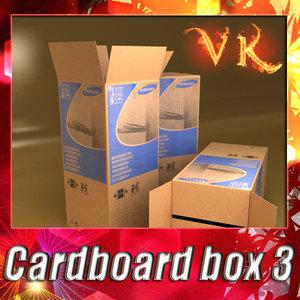 3ds max photorealistic cardboard box resolution