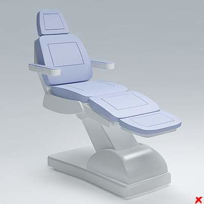 chair massage 3d 3ds