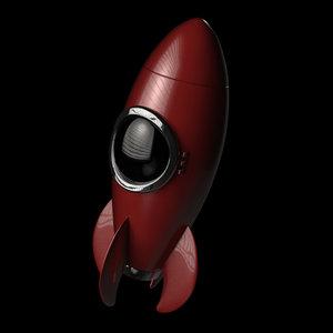 fbx fifties rocket