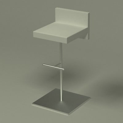 modern chair 3ds