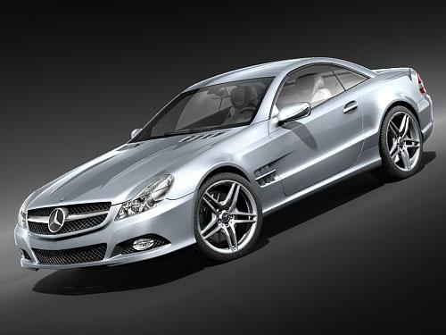 3d mercedes benz 2009 model