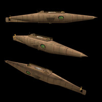 Submarine Nautilus (J. Verne)