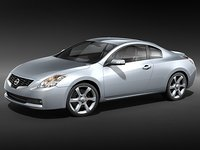nissan altima 2009 coupe 3d max