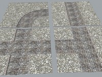 Medieval modular streets