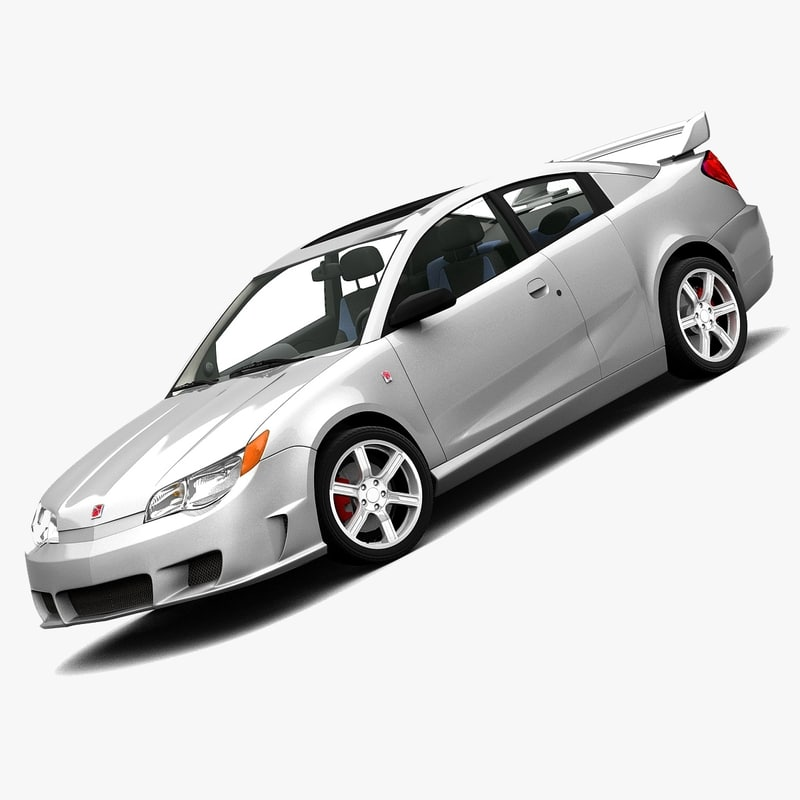 3d saturn ion redline coupe