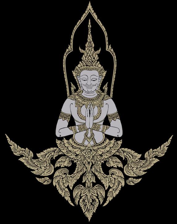 thai artwork 3d model