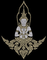 thai artwork 3d model
