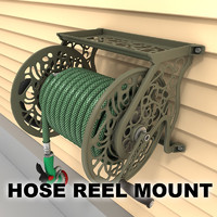hose wall mount 01 3ds