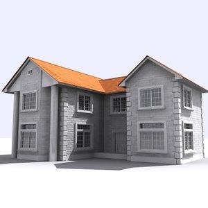 house 3d 3ds