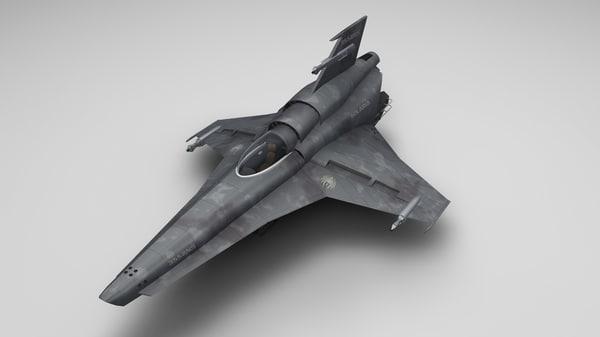 3d colonial viper model