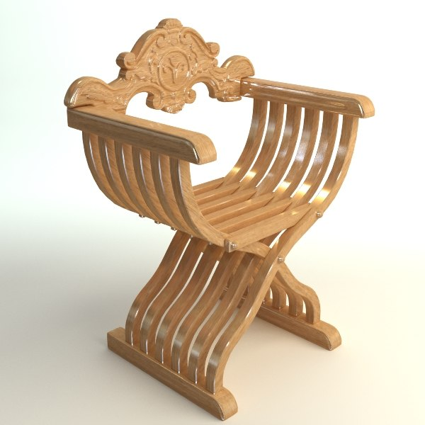 3ds max chair savonarola