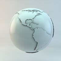 3ds max mundo globe earth
