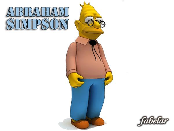 max abraham simpson