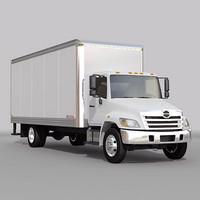 Hino box truck 01