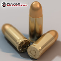 9mm Bullet with Shell