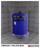 free 3ds model tardis police box