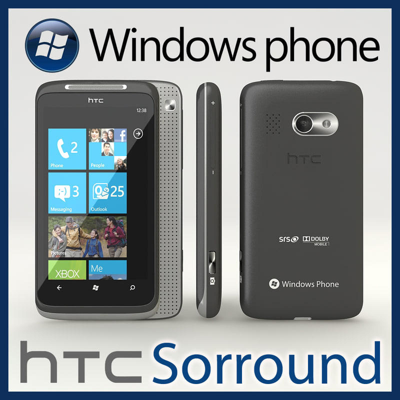 3ds max windows phone htc 7