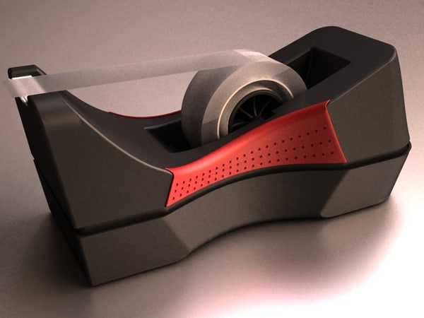 3d tape dispenser adhesive