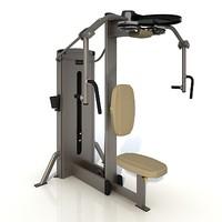 3d sport exerciser model
