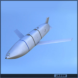 jassm missile weapon c4d