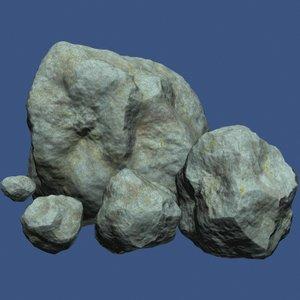 free obj model stones games racing