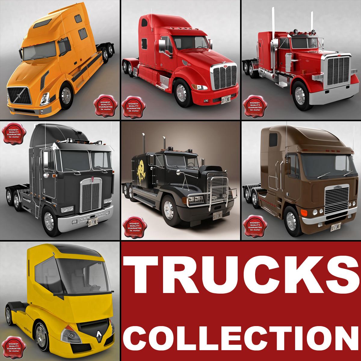 3d 3ds trucks v2