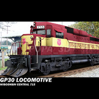 Locomotive GP30  -Wisconsin Central 715-