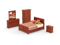Bedroom Set - 02 - CHATEAU LOUIS