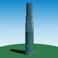 realistic skyscraper 3ds