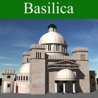 3d church basilica