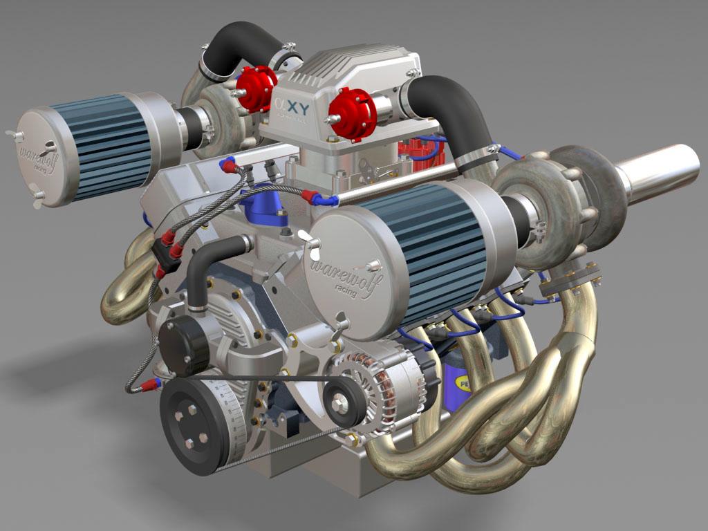 big 572 twin turbo max